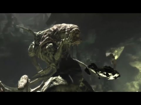 Gears Of War 2 lambent brumak boss fight