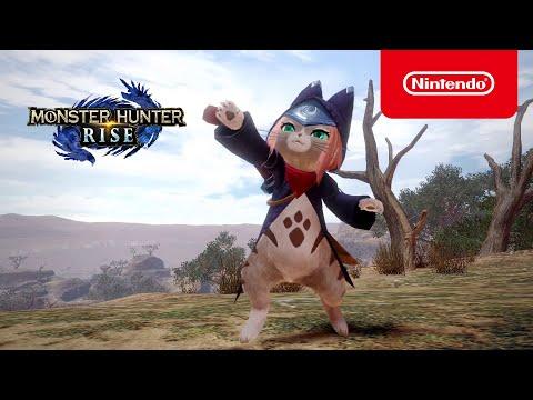 Monster Hunter Rise - Ver. 3.1 Update Announcement Trailer - Nintendo Switch