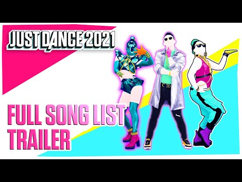 Just Dance 2021: Full Song List | Ubisoft [US]