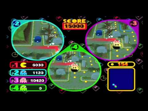 Game Night - Pac-Man Vs. (Gamecube)