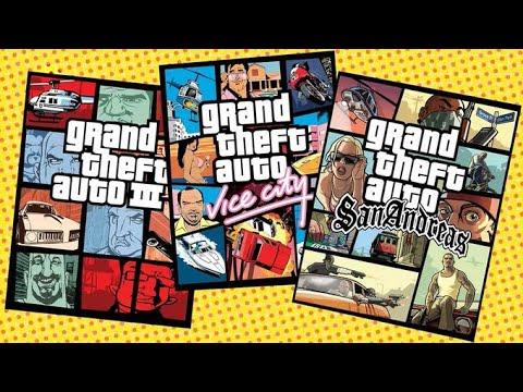 GTA III, Vice City & San Andreas Remastered coming this year...
