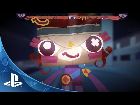 Tearaway Unfolded - Launch Trailer   PS4
