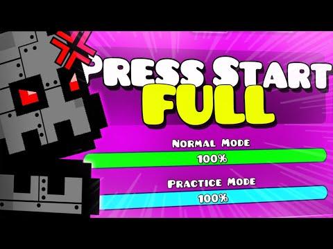 """THE BEST FULL VERSION """"Press Start Full"""" [2.2 XL level] - Geometry Dash"""