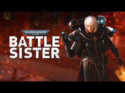 Official Warhammer 40,000: Battle Sister Gameplay Trailer   Oculus Quest Platforms
