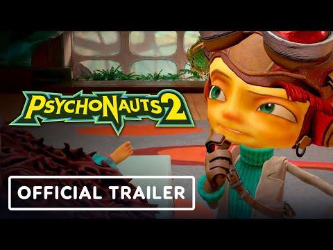 Psychonauts 2 - Official Release Date Trailer | E3 2021