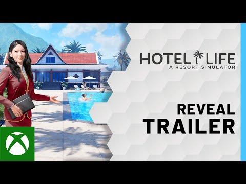 Hotel Life: A Resort Simulator - Reveal Trailer