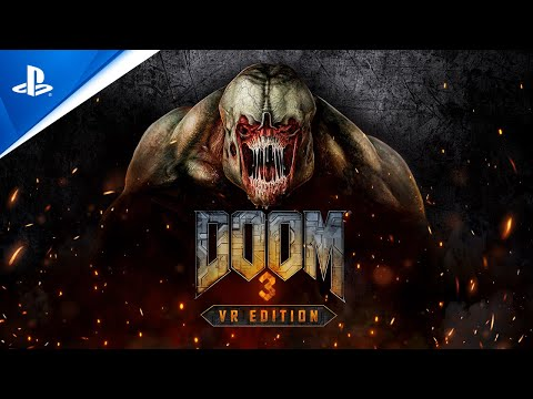 DOOM3 VR Edition - Announce Teaser Trailer | PS VR