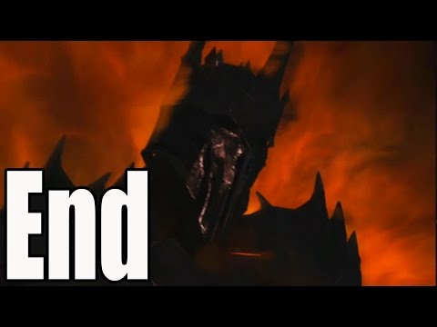 Middle Earth Shadow of Mordor Ending and Final Boss Fight