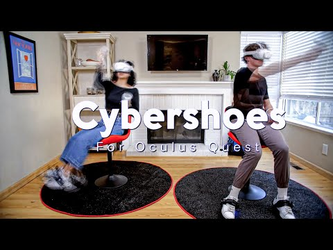 Cybershoes for Oculus Quest - coming to Indiegogo