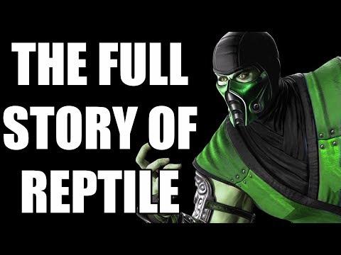 The Full Story of Reptile - Before You Play Mortal Kombat 11