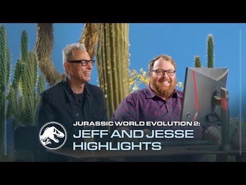 Jurassic World Evolution 2   Jeff Goldblum and Jesse Cox Gameplay Highlights