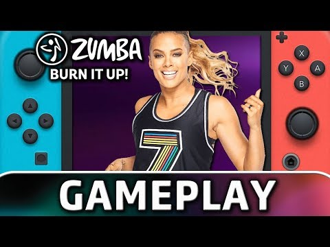 Zumba Burn It Up! | 5 Minutes of Gameplay on Switch