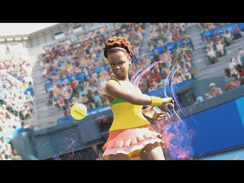 Olympic Games Tokyo 2020 The Official Video Game - Tennis Gameplay [1080p HD]