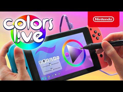 Colors Live - Launch Trailer - Nintendo Switch