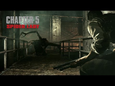 The Evil Within - CHAPTER 5 - Spider Lady aka Laura (BOSS)