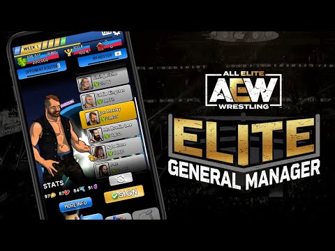 AEW Elite General Manager   Core Gameplay Trailer