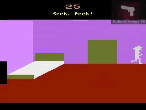 Atari 2600 / VCS - Sneak n' Peek (U.S. Games 1982)