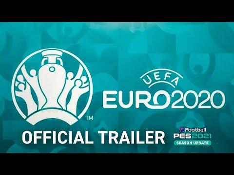 eFootball PES 2021 x UEFA EURO 2020™ - Official Reveal Trailer