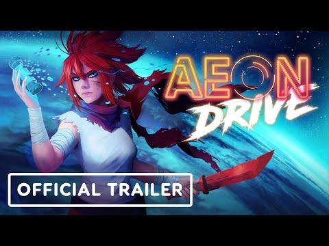 Aeon Drive - Official Gameplay Trailer   Summer of Gaming 2021