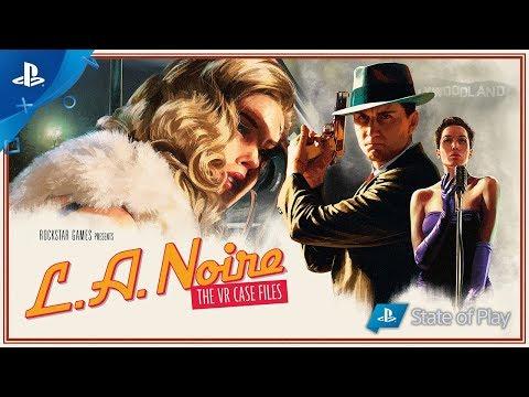 L.A. Noire: The VR Case Files Trailer | PS VR