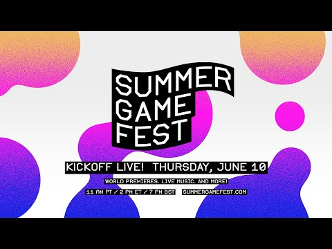 Summer Game Fest: Kickoff Live on June 10!