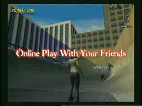 Tony Hawk's Pro Skater 3 [Trailer] (Sony Playstation 2)