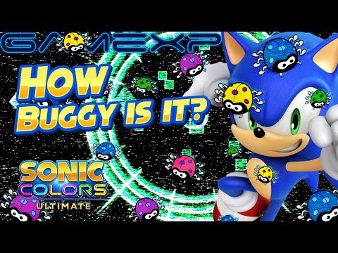 How Buggy is Sonic Colors Ultimate on Switch? - Glitch Compilation