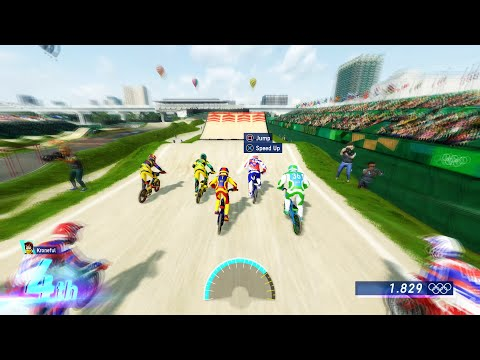 Olympic Games Tokyo 2020 – The Official Video Game - BMX - Gameplay (PS5 UHD) [4K60FPS]