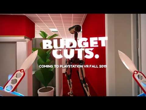 Budget Cuts PSVR Gameplay Trailer