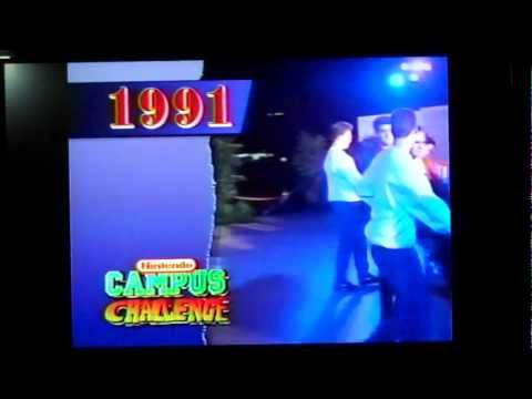 Nintendo Promo Tape: Campus Challenge 1992