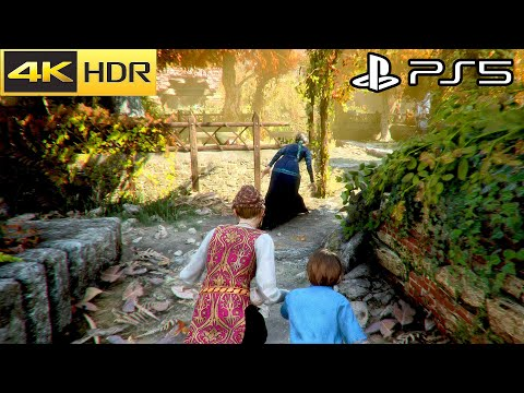 A Plague Tale: Innocence - PS5 Gameplay 4K HDR 60FPS (PS5 Version)