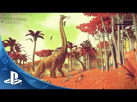No Man's Sky Gameplay Trailer | E3 2014 | PS4