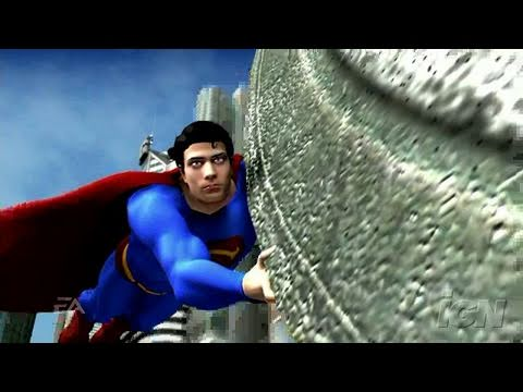 Superman Returns: The Videogame PlayStation 2 Trailer -