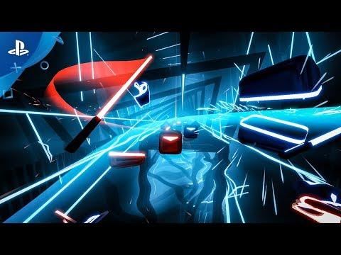 Beat Saber – E3 2018 Announce Trailer | PS VR