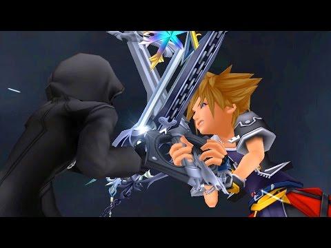 Kingdom Hearts 2: Sora vs Roxas Boss Fight (PS3 1080p)
