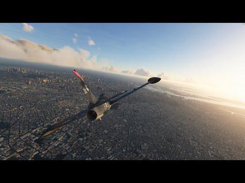 MB-339 Mt Fuji to Tokyo City aerobatics 4k Microsoft Flight Simulator 2020