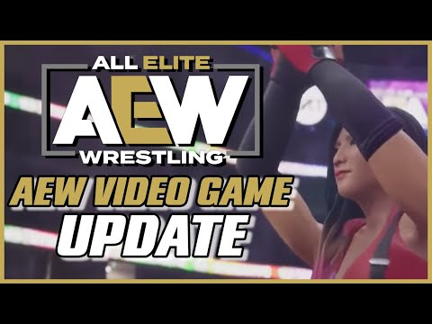 NEW DETAILS on AEW Video Game Release Date