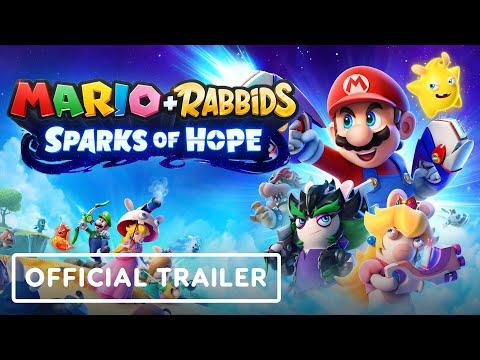 Mario + Rabbids: Sparks of Hope - Official Cinematic Reveal Trailer | E3 2021