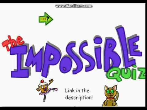 The Impossible Quiz (Fake) Trailer