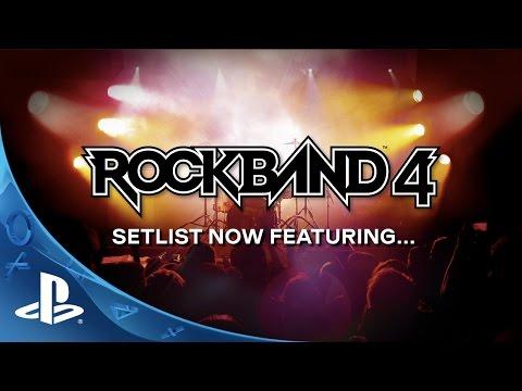 Rock Band 4 - Setlist Reveal Trailer | PS4