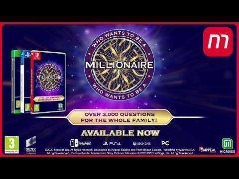 Who Wants to Be a Millionaire   Launch Trailer