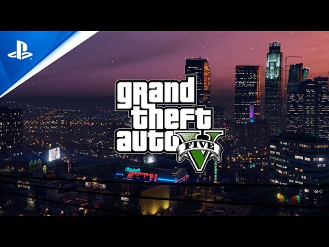 Grand Theft Auto V and Grand Theft Auto Online - PlayStation Showcase 2021 Trailer | PS5