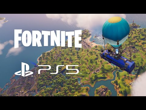 Get a First Look at Fortnite Gameplay on PS5 With UE4