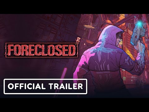 Foreclosed - Official Reveal Trailer | Summer of Gaming 2020
